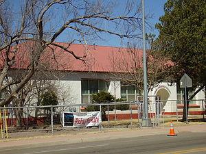 Fort Davis, Texas - Dirks-Anderson Elementary School
