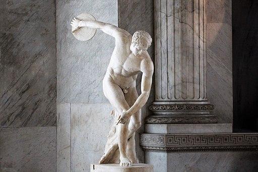 Discuswerper Vaticaanse Musea
