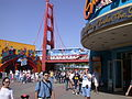 Disneyland Monorail Sunshine Plaza 2007.JPG