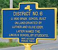 District 6 School Historic Marker.JPG