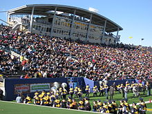 Dix Stadium - Wikipedia on kent state football field, kent state women's soccer team, kent state ice arena, kent state art building, kent state indoor track, kent state baseball stadium, kent state football division,