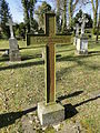Dobbertin Klosterfriedhof Grabstein Janette von Bülow Reihe 3 Platz 2 2012-03-23 265.JPG