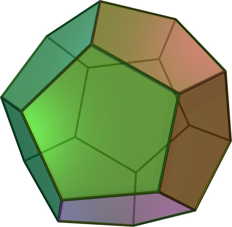 Dodecahedron (12-sided solid)