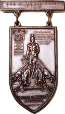 Dogs of War Trophy Badge