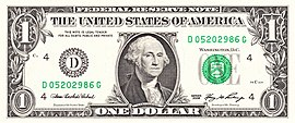 "1-US-Dollar-Note – ""Greenback"""