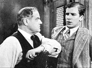 Me, Gangster - Don Terry and Anders Randolph in Me, Gangster (1928)