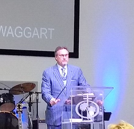 Son Donnie Swaggart preaching in Florida, 2018 Donnie Swaggart.jpg