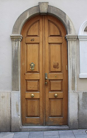 Great Synagogue (Gibraltar) - Image: Door of the Great Synagogue, Gibraltar