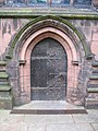 Door to the South Transept of Chester Cathedral - geograph.org.uk - 533820.jpg