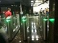 Dostoevskaya station entry, turnstiles (Вход на станцию Достоевская, турникеты) (4923352691).jpg