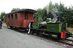 Dougal and train