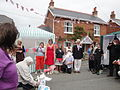 Dove release at Whitwell Diamond Jubilee 2012 street party 2.JPG