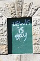 Downpatrick Graffiti, August 2009.JPG