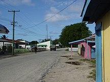 東加-政治-Downtown Pangai, Tonga