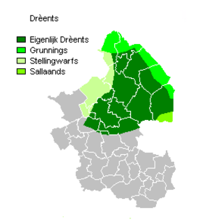 Drèents dialects - Image: Drèents