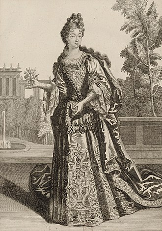 Victor Amadeus II of Sardinia - His wife Anne Marie d'Orléans.