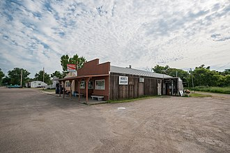Driscoll, North Dakota - The former Norm's Grocery in Driscoll