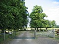 Driveway to Bowers Hill Farm - geograph.org.uk - 188885.jpg