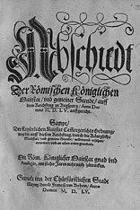 Print Augsburg Religious Peace