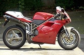 Ducati 916 - Image: Ducati 916 SPS