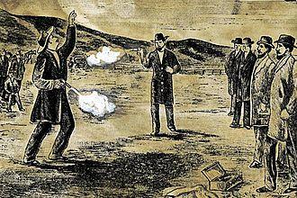 Broderick–Terry duel - The duel between David C. Broderick and  David S. Terry