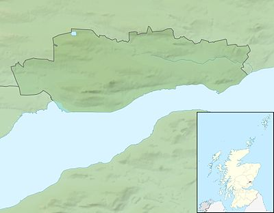 Location map Scotland Dundee