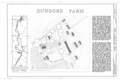 Dundore Farm, State Route 183 and Church Road vicinity, Penn Township (moved to Brownsville vicinity, Lower Heidelberg Township, Berks County), Mount Pleasant, HABS PA,6-MTPLES.V,7- (sheet 1 of 1).png