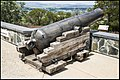 Duntroon Cannon aiming towards Parliament House-1 (26838678209).jpg