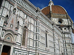 256px Duomo dome and exterior Cathedral of Santa Maria del Fiore in Florence
