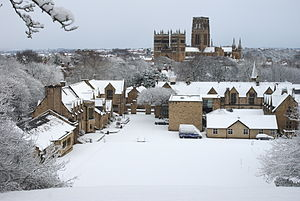 Durham School - Durham School in snow