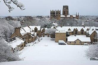 Durham School - Durham School in snow