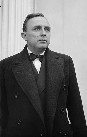 Eurith D. Rivers - Rivers visiting the White House as the Georgian governor-elect on December 22, 1936.