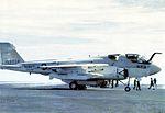 EA-6B of VAQ-132 on USS Constellation (CV-64) c1978.jpg