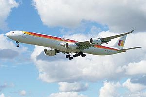 International Airlines Group - Iberia Airbus A340-600