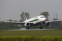 EI-DTD - A320 - Alitalia