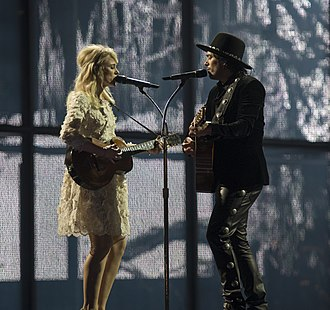 Netherlands in the Eurovision Song Contest 2014 - The Common Linnets at a dress rehearsal for the first semi-final