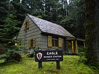Eagle Ranger Station NRHP 07000713 Clallam County, WA.jpg