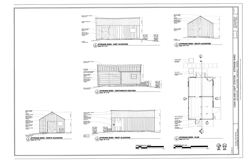 East Elevation Plan : File east south north and west elevations section