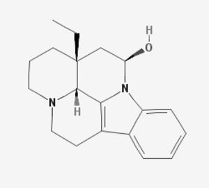 Eburnamine - Image: Eburnamine