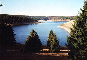 Ecker Dam - Ecker Reservoir