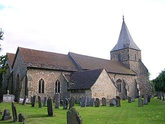 Edenbridge, Kent - Church of St. Peter and St. Paul