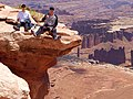 Edge of a cliff at Canyonlands National Park.jpg
