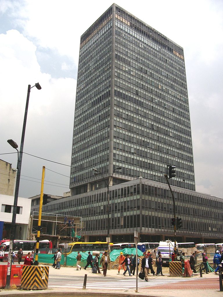 File edificio banco de bogot jpg wikimedia commons for Banco de bogota