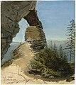 Eduard Agricola - Das Prebischtor in der Böhmischen Schweiz (1822).jpg