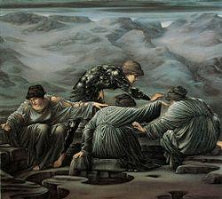 エドワード・バーン=ジョーンズ: Perseus and the Graiae