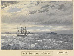 Edward Gennys Fanshawe, HMS 'Daphne' off Cape Horn, 28 May 1852.jpg