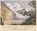 Edward Gennys Fanshawe, Piz Bernina, Scerscen, Roseg... Sella & Gluschaint and Tschierva &... Roseg Glaciers from the path leading to Alp Ota, 1880 (Switzerland).jpg