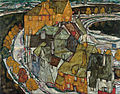 Egon Schiele - Crescent of Houses II (Island Town) - Google Art Project.jpg