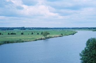 Eider (river) - The Eider at Breiholz