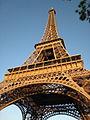 Eiffel Tower from immediately beside it, May 2008.jpg